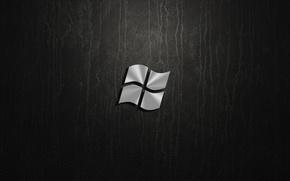 Картинка silver, windows, logo
