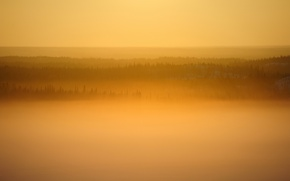 Обои Canada, Great Slave Lake sunrise, Yellowknife, Northwest Territories