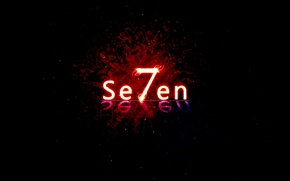 Обои Se7en, тьма, Windows