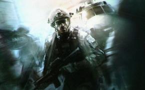 Картинка солдат, Call of Duty, спецназ, Modern Warfare 3