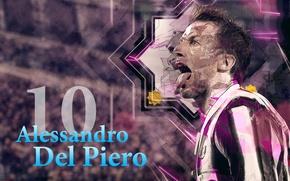 Картинка Italy, legend, Juventus, Alessandro, Del Piero, El Capitan