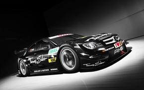 Картинка авто, гонки, спойлер, мерседес, amg, амг, 2013, Mercedes Benz AMG DTM