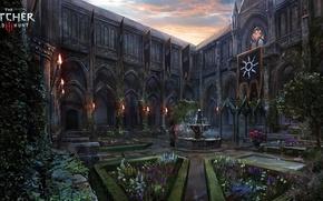 Обои CD Projekt Red, сад, арт, nilfgaard, The Witcher, The Witcher 3: Wild Hunt