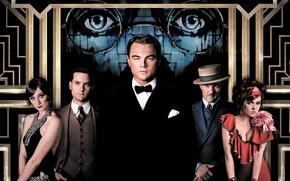 Обои Нью-Йорк, Леонардо ДиКаприо, Leonardo DiCaprio, The Great Gatsby, Кэри Маллиган, американская классика, Тоби Магуайр, Джоэль ...