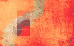 Обои штрих, окно, абстракция, полотно, линии, квадрат