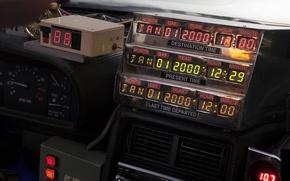 Обои delorean, dmc-12, back to the future, time machine, делориан