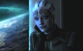 Картинка Mass Effect, Азари, Лиара T`Сони