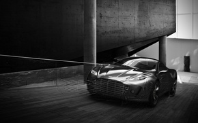 Обои Новый, Gauntlet, Aston Martin, Скорость, Дорога, Концепт