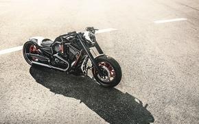Картинка тюнинг, мотоцикл, Harley Davidson, байк, Chopper, tuning, motorcycle, Barracuda, чоппер, барракуда, харлей девидсон, Motorbike, Giannis …