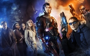 Картинка Wentworth Miller, Dominic Purcell, characters, Caity Lotz, Heat Wave, Captain Cold, Legends of Tomorrow, Brandon ...