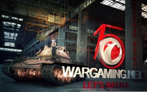Картинка Япония, средний танк, онлайн-игра, World Of Tanks, STB-1, WG 15 лет