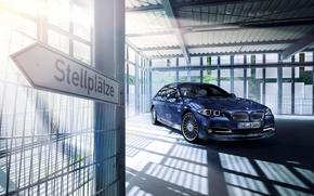 Обои бмв, BMW, седан, F10, Sedan, Alpina, 5-Series