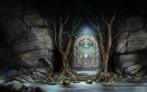 Картинка Властелин Колец, Дж. Р. Р. Толкин, Lord of the Rings, Братство Кольца, Западные ворота Мории