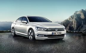 Картинка Volkswagen, фольксваген, пассат, Passat, 2015, BlueMotion