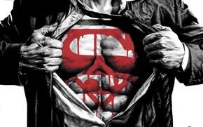 Обои superman, комиксы, Lex, супермен, Luthor