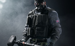 Картинка Ubisoft, Game, Tom Clancy's Rainbow Six: Siege, SAS Sledge