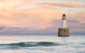 Картинка Scotland, United Kingdom, Rattray Head Lighthouse, Old Rattray