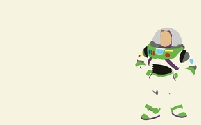 Обои Toy story, Buzz Lightyear, the main character