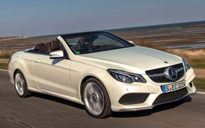 Картинка Mercedes-Benz, Cabriolet, E400