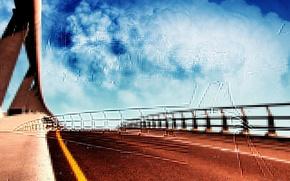 Картинка облака, Дорога, линия