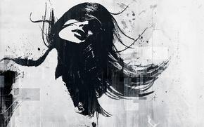 Картинка свет, девушки, арт