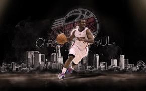 Картинка Спорт, Баскетбол, NBA, Лос Анджелес, Los Angeles Clippers, Chris Paul, Крис Пол, Клипперс