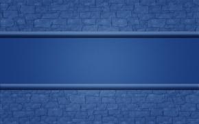 Обои синий, стена, полоса, текстура