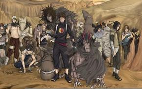 Картинка game, monkey, snake, naruto, crow, kankurou, sand, ninja, puppet, shinobi, japanese, naruto shippuden, kunoichi, hitayate, …