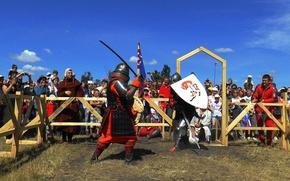 Картинка обои, игра, меч, Бой, солдаты, рыцарь