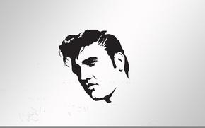 Картинка music, Elvis, portre, popart