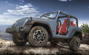 Картинка Wrangler, Ренглер, Jeep, передок, 10th Anniversary, Rubicon, Джип
