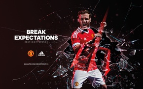 Картинка adidas, football, manchester united, juan mata, red-devils