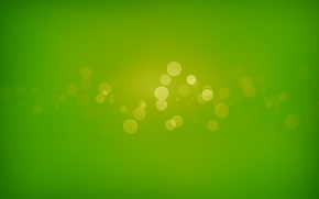Обои круги, зеленый, green, узоры, краски, colors, circles, patterns, боке, bokeh, abstraction, 1920x1280, абсракция