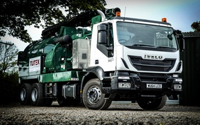 Картинка UK-spec, 2014, Iveco, 6x4, Hi-Land 330, Trakker, ивеко