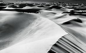 Картинка песок, белое, пустыня, черное