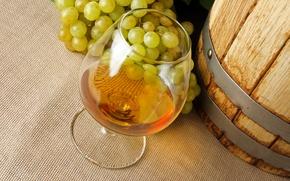 Обои коньяк, алкоголь, виноград