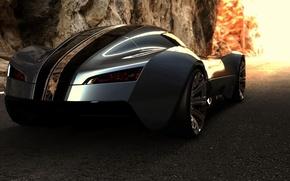 Обои bugatti, aerolithe, concept, supercar