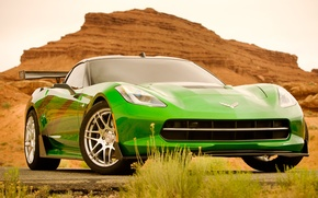 Картинка фильм, Corvette, Chevrolet, автобот, Stingray, 2014, Трансформеры 4, Transformers 4, Слингшот, Slingshot