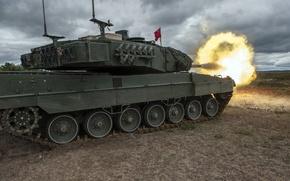 Картинка оружие, танк, Leopard 2