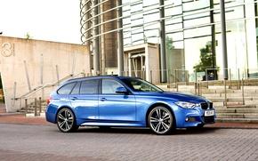 Обои бмв, BMW, Sport, универсал, Touring, F31, 2015