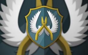 Картинка отражение, рисунок, крылья, щит, спецназ, angel, наклейка, counter-strike, sticker, global offensive, csgo, cs go, guardian, …