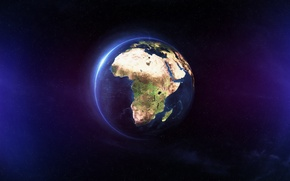 Картинка land, africa, Ocean, planet Earth
