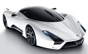Обои car, aero, обоя, тачка, белая, суперкар, white, автомобиль, shelby, супер, cars, 2011, шелби, wallpapers, super, ...