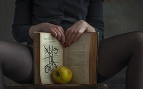 Картинка руки, страница, ноги, книга
