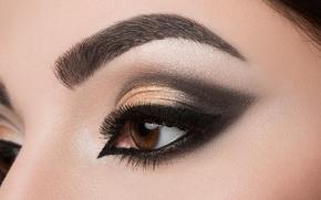 Обои colors, makeup, eyes