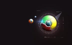 Картинка Mozilla, Google Chrome, Safari