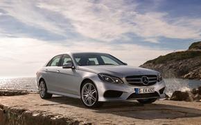 Картинка Mercedes-Benz, Мерседес, AMG, передок, АМГ, Sports Package, E500