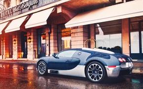 Обои bugatti, veyron, grand, sport, город, женева