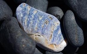 Картинка пляж, природа, макро камень