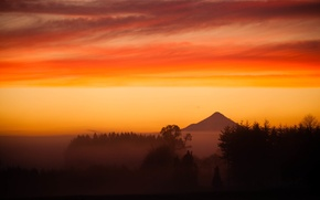 Картинка вулкан, Чили, Анды, Осорно